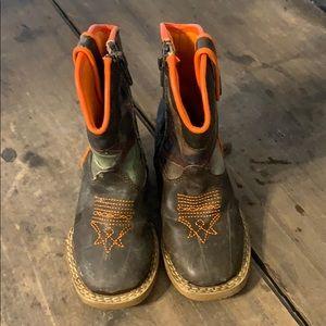 DBL Barrel Toddler Boy Cowboy Boots